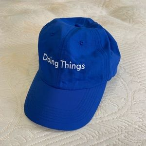 """Outdoor Voices """"Doing Things"""" hat"""